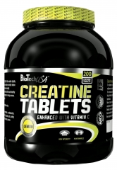 BioTech USA Creatine Tablets 200 Kautabletten (532g)