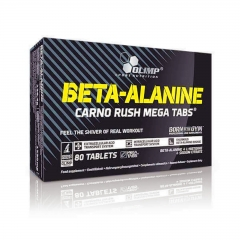 Olimp Beta-Alanine Carno Rush Mega Tabs 80 Tabletten (142g)