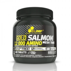 Olimp Gold Salmon 12000 Amino Mega Tabs 300 Tabletten (540g)