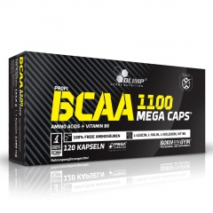 Olimp BCAA Mega Caps 120 Kapseln (154g)